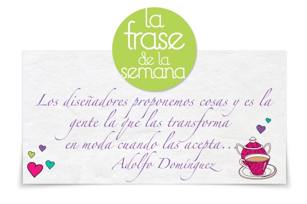 frase dress adolfo dominguez